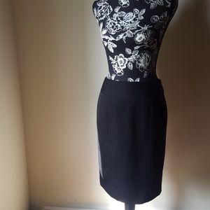 Anne Klein💙 Black Pencil Skirt